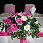 Gerbera Top Table Decoration
