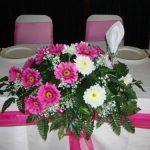 Gerbera Top Table Decoration