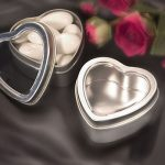 Heart Shaped Mint Tin Wedding Favour