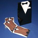 Tuxedo Favour Box