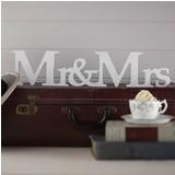 Vintage Affair - Mr & Mrs Freestanding Wooden Sign