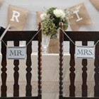 Vintage Affair - Mr & Mrs Sign