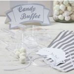 Vintage Lace - Candy Buffet Kit