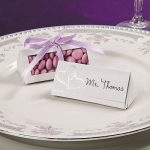Wedding Place Card Favour Box