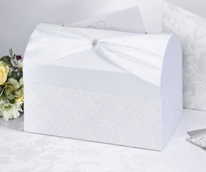 Wedding Post Box Diamante